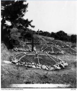 Shell Green Cemetery 1915. Photograph donor Mr.H.H. Shelley, photograph source AWM J06246