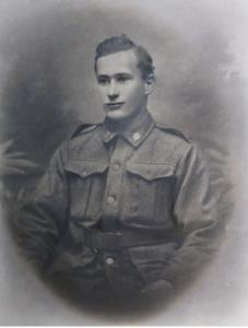 Staff Sergeant Sidney Lydiate. Photograph  sourced and reproduced with permission of the Lydiate Family