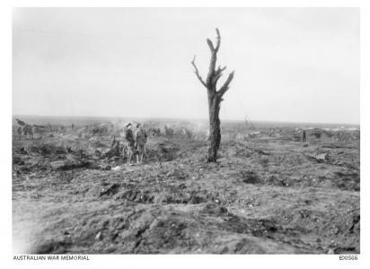 Some Albert, Bapaume, Pozieres, Mouquet Farm December 1916. Photographer unknown, photographer source AWM E00566