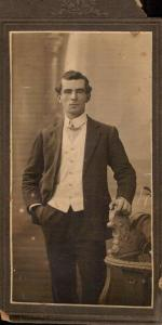 Thomas Barlow. Photograph reproduced with permission of M. Roberts