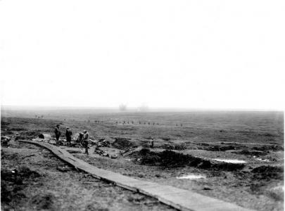 View towards Flers early 1917. Photographer unknown, photograph source AWM E0020