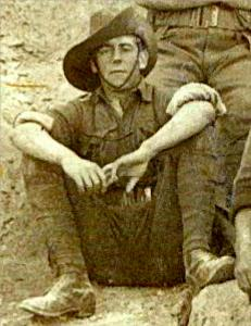 Pte. Wallie Passmore Roach SN 348. Photo courtesy G and S Worth