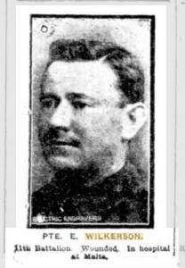 Wilkerson, Ernest. Photo source Sunday Times  1.8.1915 p1
