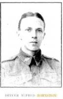 Alfred Johnston. Photograph source Western Mail 26.4.1918