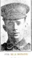 Barlow W J. Photograph source Sunday Times 29.4.1917 p6
