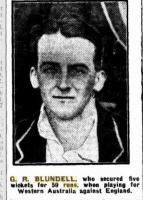 G.R.Blundell. Photo source Western Mail 6.11.1924 p33