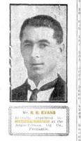 Cptn. S E. Evans. Photo source Sunday Times 15.1.1922 p8