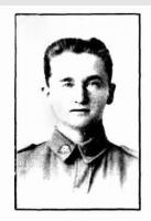 Cpl. E.G.Sergeant. Photo Source Western Mail 5.7.1918 p7s
