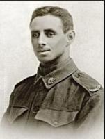 Ernest William Richards. Photographer unknown, photograph courtesy WW1 Cemeteries- Tyne Cot.