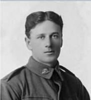H.A. Kingsbury 1916. Portrait. Photographer Dease Studios . Image reproduced with permission SLWA 153044PD