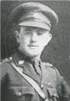 Lance Cpl.Horace Chamberlain King. Photo source Palmer and Ashworth 1920 p48