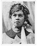 Sister Fanny Isabella Hamersley. London 1916. Photo by Elliott & Fry. Photo source AWM P01667.003