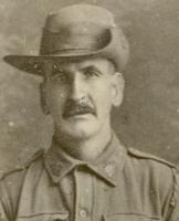 Portrait of  Norman Bridson Robinson. Photograph from the Macclesfield RSL, sourced from the RSL Virtual War Memorial