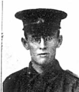 Pte Walter Herbert Davis SN 5862. Image reproduced with permission from Australia's Fighting Sons of the Empire (Facsimile Edition 2014) Hesperian Press 2014