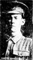 Pte.W. H. Minett. Photo source The Sun  5.11.1916 p6