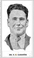 Thomas Dory Gardiner. Photo source Daily News 28.3.1929 p8