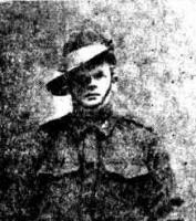 W. J. Wilson. Photo source Camp Chronicle (Midland) 11.7.1918 p6