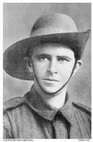 W.J. Connaughton MM. Photographer unknown, image sourced AWM P0646.00